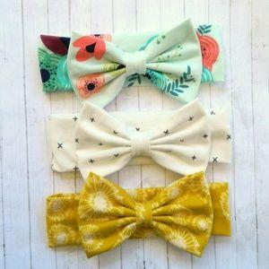 Posh Pelican Accessories - Baby/Toddler Girl Large Headband Bow Bundle